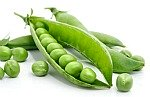green peas; list of all vegetables with pods