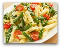 pasta primavera salad; penne pasta recipes