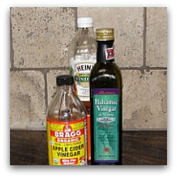 vinegar bottles: vinegar to lose weight