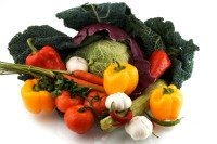 mojo veggie; bouquet of vegetables